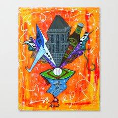 SECRET GEM Canvas Print