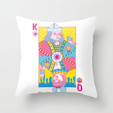 King Of Nothing, Queen Of Nowhere Throw Pillow