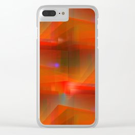 3D abstraction -31- Clear iPhone Case