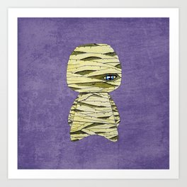 A Boy - The Mummy Art Print