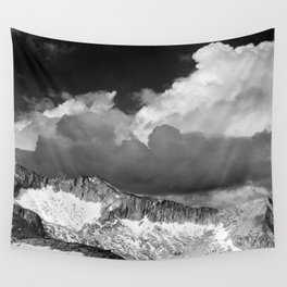 Clouds - White Pass, Kings River Canyon Wall Tapestry