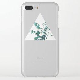Eucalyptus II Clear iPhone Case