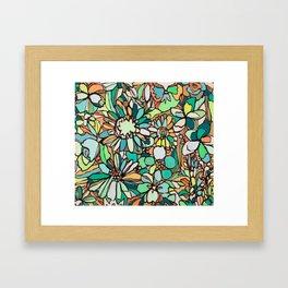 coralnturq Framed Art Print