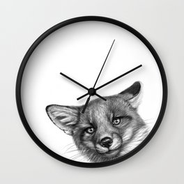 Fox Cub G139 Wall Clock