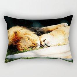 Cat Nap (Jungle Love) Rectangular Pillow