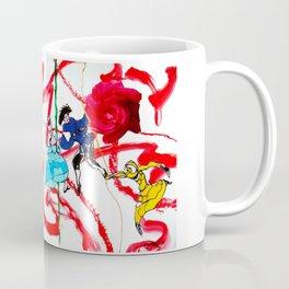 Marin Marais ` La grande spectre de la Rose' Coffee Mug