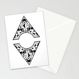 Aztec Diamond Stationery Cards