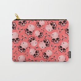 Pink Buzz Carry-All Pouch