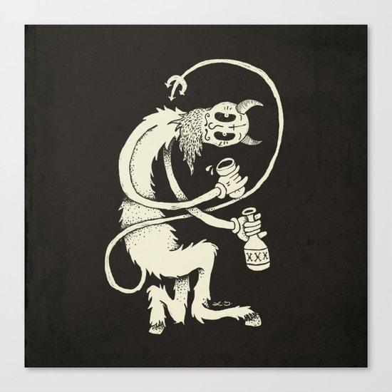 The Devil Canvas Print