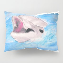 The smiling Dolphin Pillow Sham