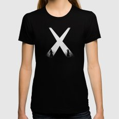 The Encounter Black MEDIUM Womens Fitted Tee