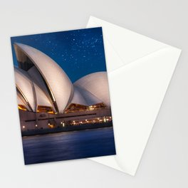 Millions of Stars at the Opera Stationery Cards