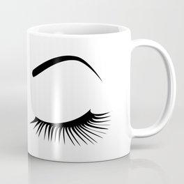 Violet Wink (Right Eye Open) Coffee Mug