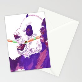 Purple Panda Stationery Cards