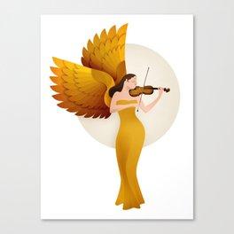 violinist Canvas Print