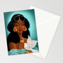 Her royal highness, the Sultana Jasmine Stationery Cards