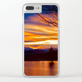 Dawning of a New Day Clear iPhone Case