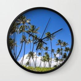 Palm Tree|Hawaii Wall Clock