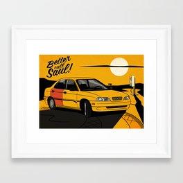 Better Call Saul - Suzuki Esteem Framed Art Print