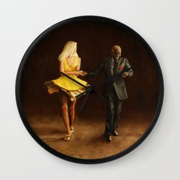 Margaret and Charlie Wall Clock