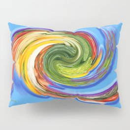 The whirl of life, W1.9C Pillow Sham