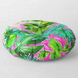 Indoor Jungle 4 Floor Pillow