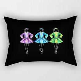 Irish dancers Rectangular Pillow