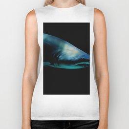 Dark Shark (Color) Biker Tank