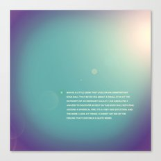 Spec of Dust Canvas Print