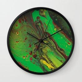 Reggae river Wall Clock