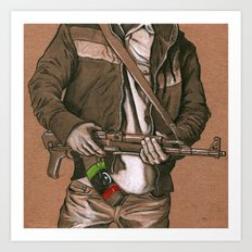 Freedom Fighter Art Print