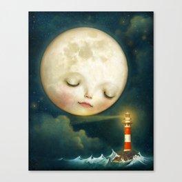 My Friend the Lighthouse Canvas Print