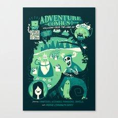 Adventure Comics Canvas Print