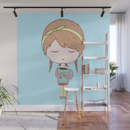 Me In The Morning Wall Mural