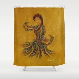 Dance of the Seven Veils Shower Curtain