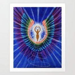 Empowerment Goddess Art Print