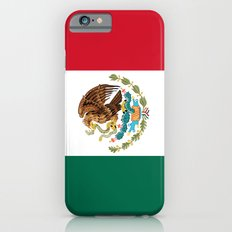 The Mexican national flag - Authentic high quality file Slim Case iPhone 6