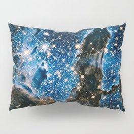 Pillars Of Creation Nebula, Galaxy Background, Universe Large Print, Space Wall Art Decor Pillow Sham