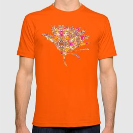 Crazy Cogs pink and orange T-shirt