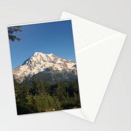 Sunset Mount Rainier Stationery Cards