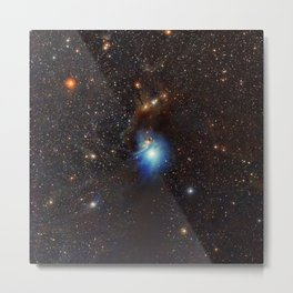 Young Star, Reflection Nebula IC 2631 Metal Print
