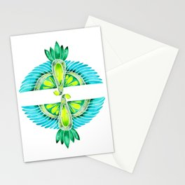 Parrot – Blue & Green Stationery Cards