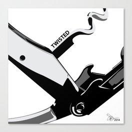 Twisted Wine Opener 2 Canvas Print