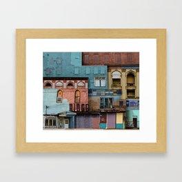 verdigris Framed Art Print