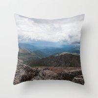 colorado Throw Pillows featuring Colorado by Ashley Hirst Photography