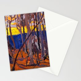 Tom Thomson - Phantom Tent - Canada, Canadian Oil Painting - Group of Seven Stationery Cards