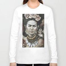 Hommage à Frida Kahlo 3 Long Sleeve T-shirt