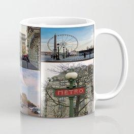 Paris Collage Coffee Mug