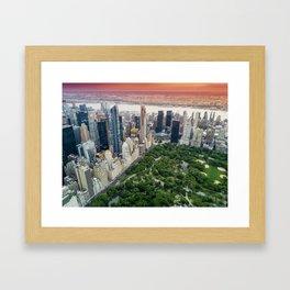 Central Park, New York City Framed Art Print