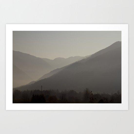 Mountains #1 Art Print